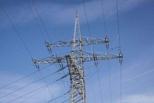strommast power supply power lines