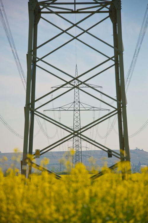 strommast energy electricity