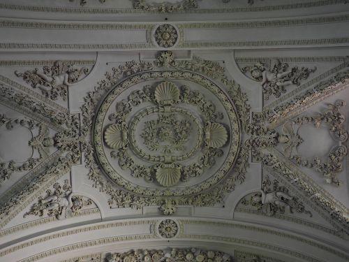 stucco ceiling blanket church