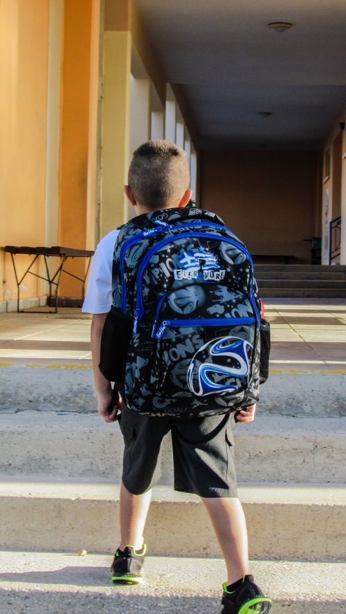 student school first day