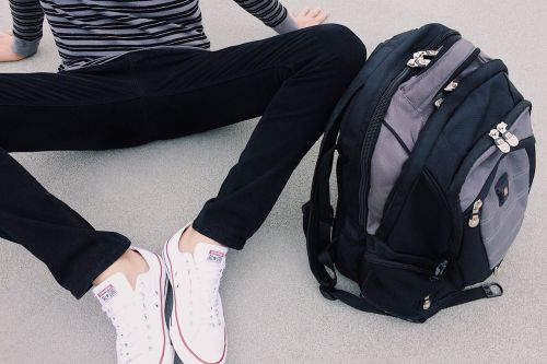 student school backpack