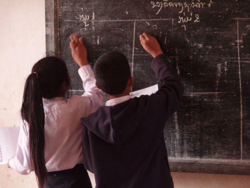 students primary school village