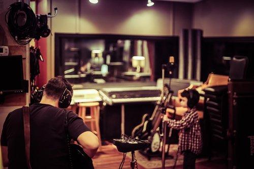 studio  recording  audio
