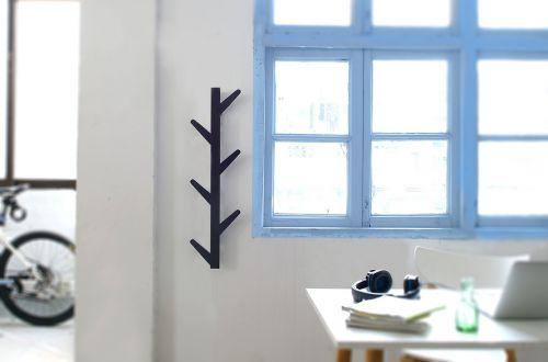 study wall-mounted hook room