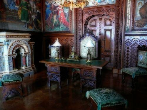 study room king ludwig the second bavaria