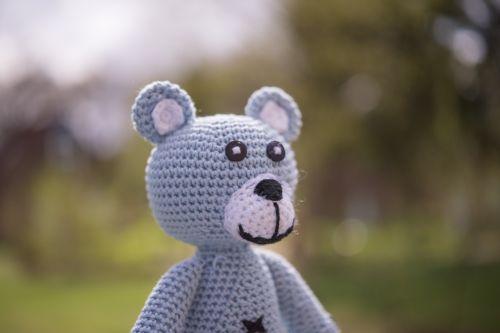 stuffed bear animal