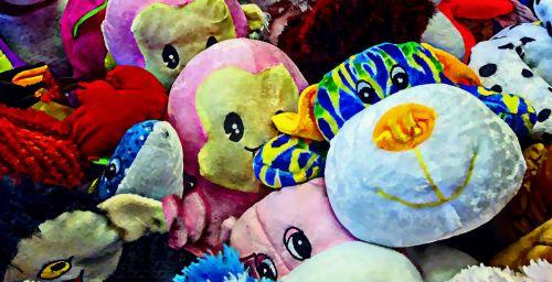 Stuffed Animal Background