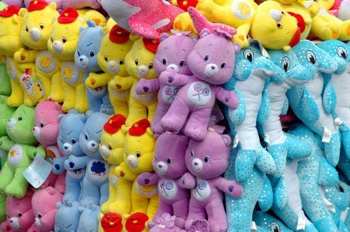 stuffed animals carnival amusement