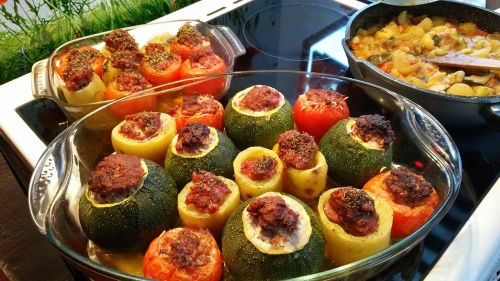 stuffed vegetables provence minced meat
