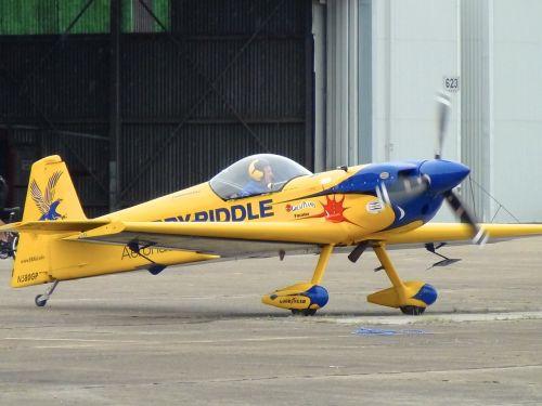 stunt airplane aviation