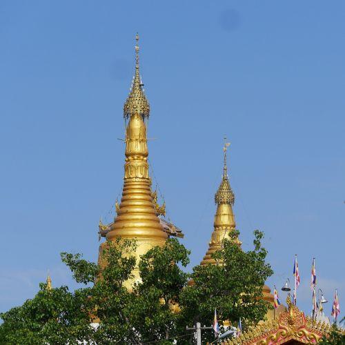 stupa myanmar temple