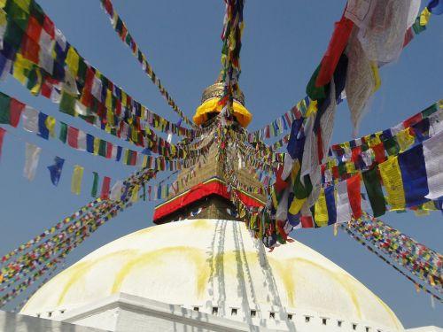 stupa buddhist nepal