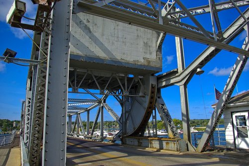 sturgeon bay drawbridge  bridge  drawbridge