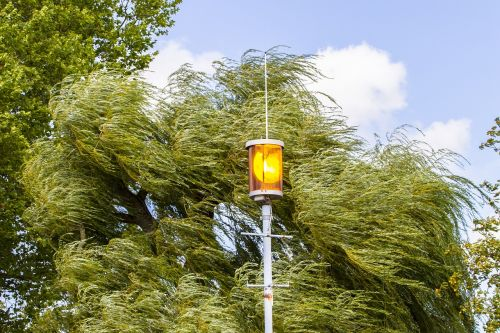 sturmwarnung flashing light forward