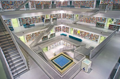 stuttgart city library milanese space