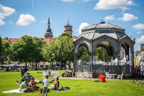 stuttgart schlossplatzfest pavilion
