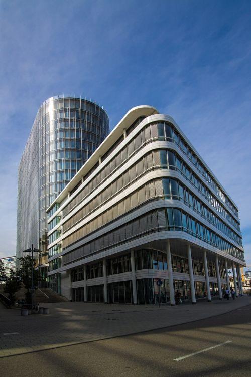 stuttgart office building glazed