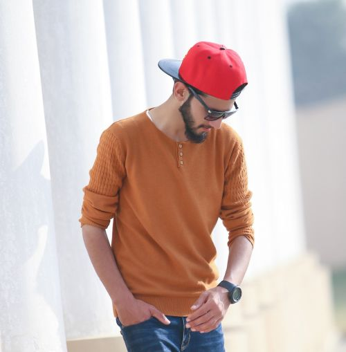 stylish boy fashion man's fashion