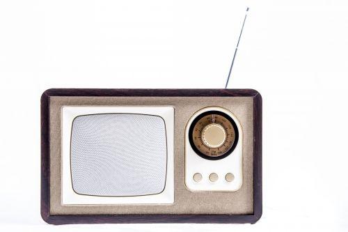 Stylish Vintage Portable Radio