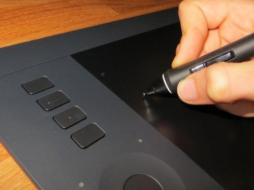 stylus wacom tablet