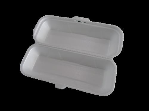 styrofoam packing white