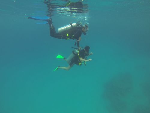 sub immersion diving course