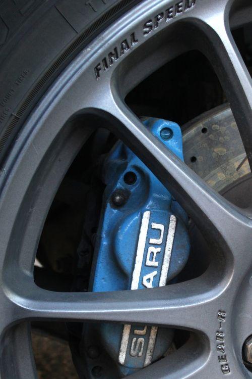 subaru caliper brake