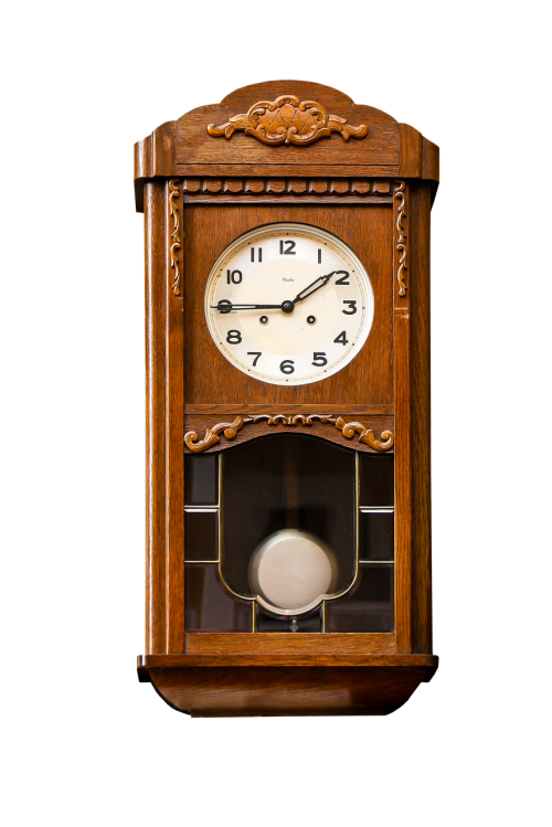 subject clock pendulum clock