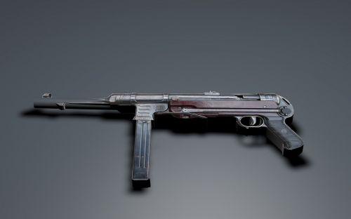 submachine gun mp 40 schmeisser
