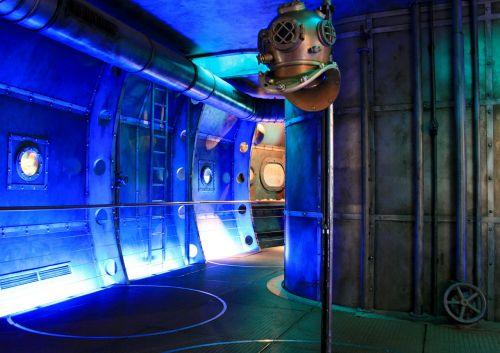 submarine museum diving bell