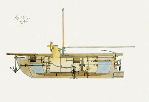 submarine u boat schema