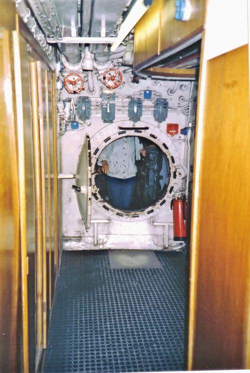 submarine connecting corridor fittings
