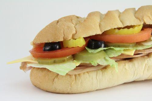 submarine sandwich sub subway