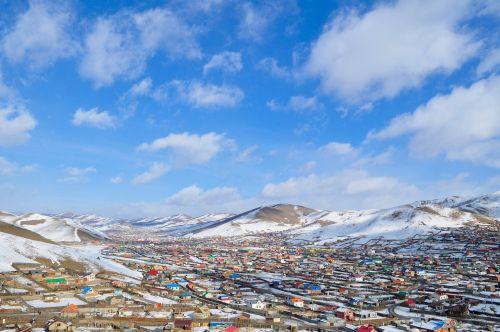 suburb mongolia ulaanbaatar