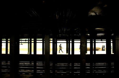 subway passenger urban