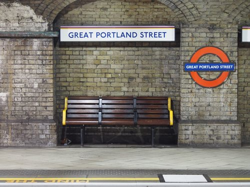 subway station  underground  great portland street
