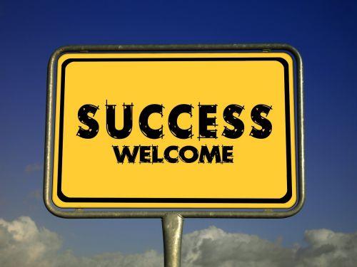 success welcome invitation