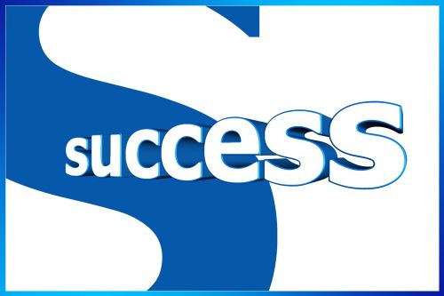 success logo motivation