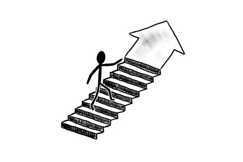 success  stairs  business