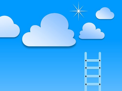 success images  stairs to cloud  stairs