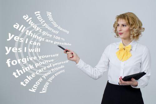 successful think businesswoman