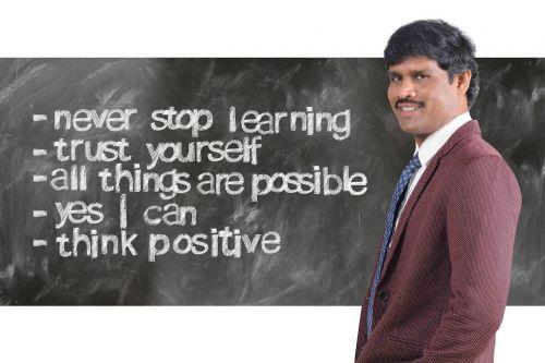 successful think businessman