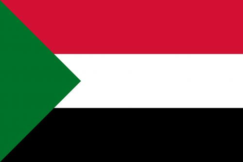 sudan flag national flag