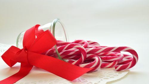 sugar candy canes sweet