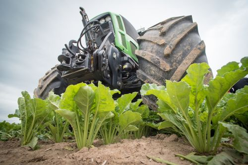 sugar beet agriculture tractor