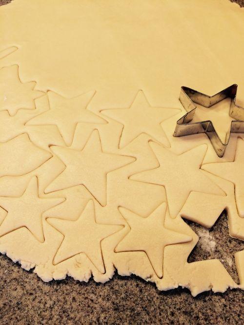 sugar cookies cookies star cookies