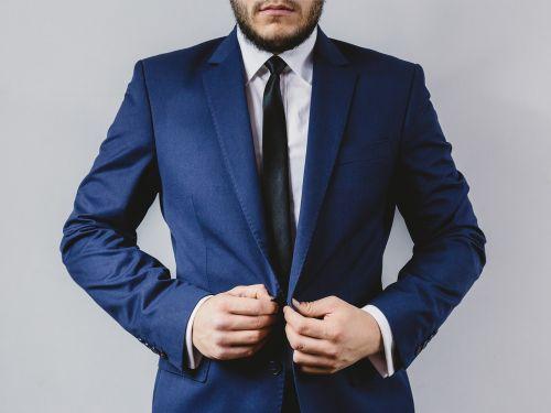 suit tie blazer