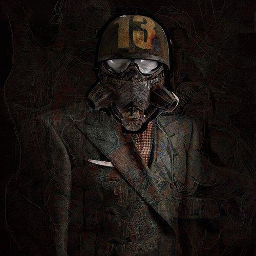 suit  helm  man