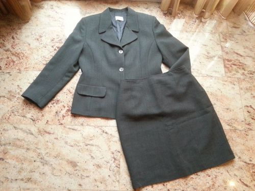 suit grey clothing