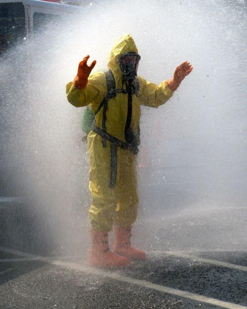 suit decontamination protective